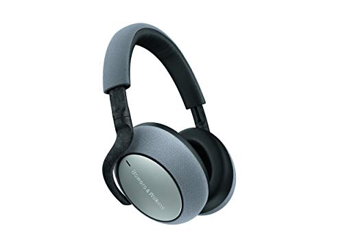 Bowers & Wilkins PX7 Over Ear Wireless Bluetooth Headphone, Adaptive Noise Cancelling - Silver