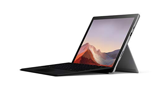 NEW Microsoft Surface Pro 7 – 12.3' Touch-Screen - 10th Gen Intel Core i5 - 8GB Memory - 128GB SSD (Latest Model) – Platinum with Black Type Cover