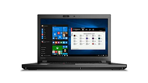 Lenovo Flagship ThinkPad P52 15.6' FHD LED Backlight Laptop | Intel Core i7 8750H 6-core | 16GB RAM | 512GB SSD | NVIDIA Quadro P1000 | Fingerprint Reader | USB-C | Webcam | Windows 10 Pro