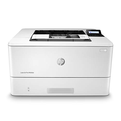 HP LaserJet Pro M404dn Monochrome Laser Printer with Built-In Ethernet & Double-Sided Printing (W1A53A) - Ethernet Only