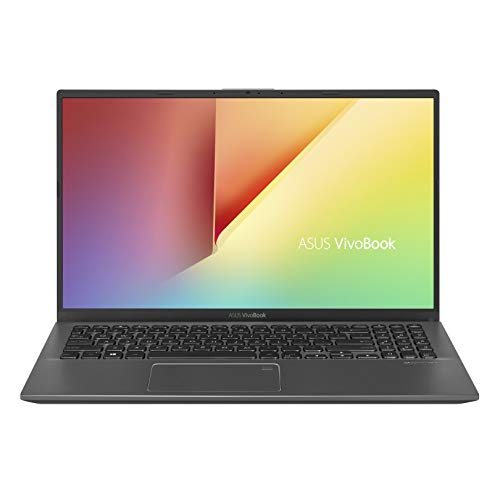 "ASUS VivoBook 15 Thin and Light Laptop, 15.6"" Full HD, AMD Quad Core R5-3500U CPU, 8GB DDR4 RAM, 128GB SSD + 1TB HDD, AMD Radeon Vega 8 Graphics, Windows 10 Home, F512DA-EB55, Slate Gray"