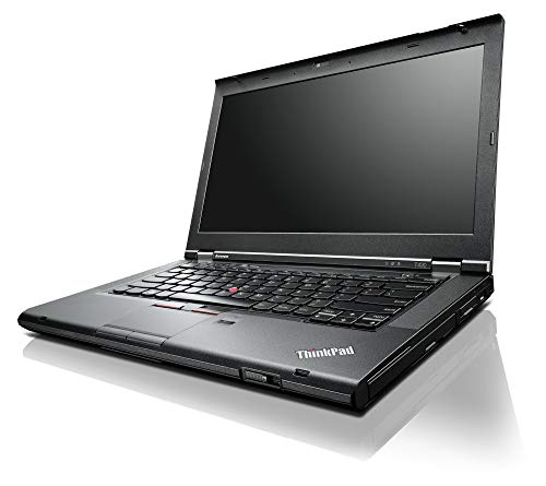 Lenovo Thinkpad T430 Business Laptop, Intel Dual-Core i7-3520M Processor up to 3.60 GHz, 8GB DDR3, 128GB SSD, 14in HD LED-backlit display, DVD, WiFi, Win 10 Pro (Renewed)