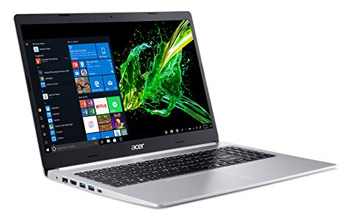 Acer Aspire 5 Slim Laptop, 15.6' Full HD IPS Display, 10th Gen Intel Core i5-10210U, NVIDIA GeForce MX250, 8GB DDR4, 512GB PCIe NVMe SSD, Intel Wi-Fi 6 AX201 802.11ax, Backlit KB, A515-54G-53H6