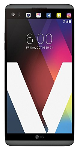 LG V20 H910a 64GB 5.7' IPS LCD Display Android Smartphone w/ Dual Rear Cameras (16MP+8MP) - Carrier Unlocked for all GSM Carriers Worldwide (Titan Gray)