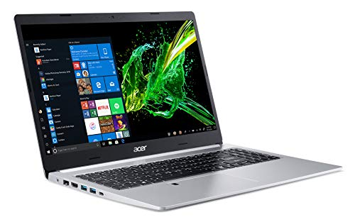 Acer Aspire 5 Slim Laptop, 15.6 Inches FHD IPS Display, 8th Gen Intel Core i5-8265U, 8GB DDR4, 256GB SSD, Fingerprint Reader, Windows 10 Home, A515-54-51DJ