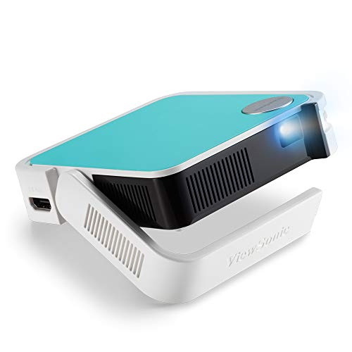 ViewSonic M1 Mini Portable LED Projector with JBL Speaker HDMI USB Type-A Automatic Vertical Keystone Built-in Battery and 1080p Support