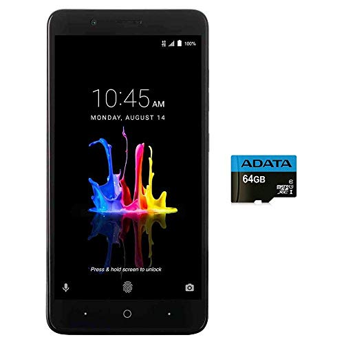 ZTE BLADE Z MAX Z982 (32GB, 2GB RAM) 6.0' Full HD Display, Dual Rear Camera, 4080 mAh Battery, 4G LTE GSM Unlocked Smartphone w/ US Warranty (Black)