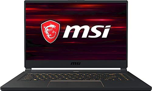 MSI GS65 Stealth-006 15.6' 144Hz Ultra Thin and Light Gaming Laptop, Intel Core i7-8750H, NVIDIA RTX 2060, 16GB DDR4, 512GB Nvme SSD, Win10