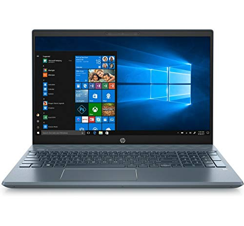 2019 HP Pavilion 15.6' FHD Touchscreen Laptop Computer, 8th Gen Intel Quad-Core i7-8565U Up to 4.6GHz, 16GB DDR4 RAM, 1TB HDD, GeForce MX250 4GB, 802.11AC WiFi, Bluetooth 5.0, Fog Blue, Windows 10