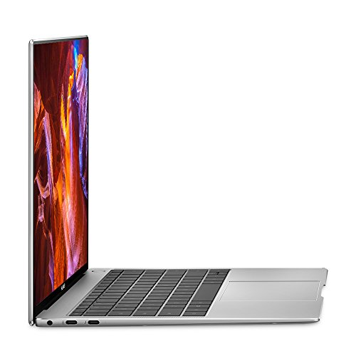Huawei MateBook X Pro Signature Edition Thin & Light Laptop, 13.9' 3K Touch, 8th Gen i5-8250U, 8 GB RAM, 256 GB SSD, 3:2 Aspect ratio, Office 365 Personal Included, Mystic Silver - Mach-W19B