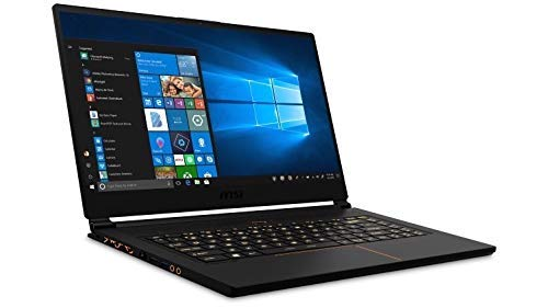 MSI GS65 Stealth THIN-047 Intel Core i7-8750H up to 4.10GHz, 16GB DDR4 2400MHz, 256GB NVMe SSD) (Renewed)