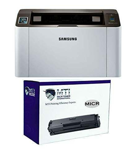 MICR Toner International Xpress M2020w Laser Check Printer Bundle with Compatible Samsung D111S MICR Toner Cartridge