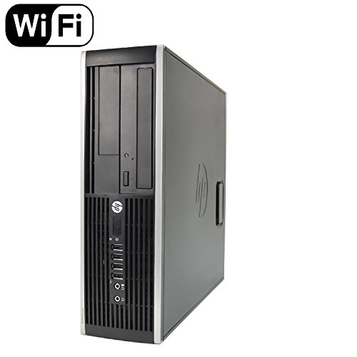 HP 8300 Elite Small Form Factor Desktop Computer, Intel Core i5-3470 3.2GHz Quad-Core, 8GB RAM, 500GB SATA, Windows 10 Pro 64-Bit, USB 3.0, Display Port (Renewed)