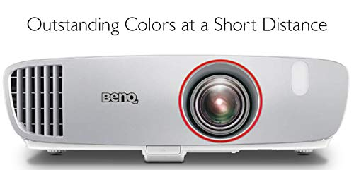 BenQ HT2150ST 1080P Short Throw Projector | 2200 Lumens | 96% Rec.709 for Accurate Colors | Low Input Lag Ideal for Gaming | 2D Keystone for Flexible Setup