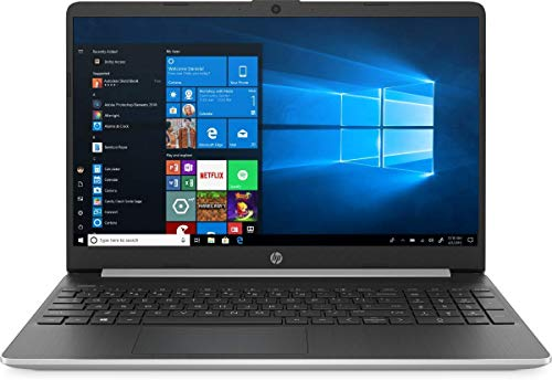 2020 HP 15.6' Touchscreen Laptop Computer, 10th Gen Intel Quard-Core i5 1035G1(Beats i7-7500U), 16GB DDR4 RAM, 512GB PCIe SSD, AC WiFi, Silver, Windows 10 Home + YZAKKA External DVD Drive