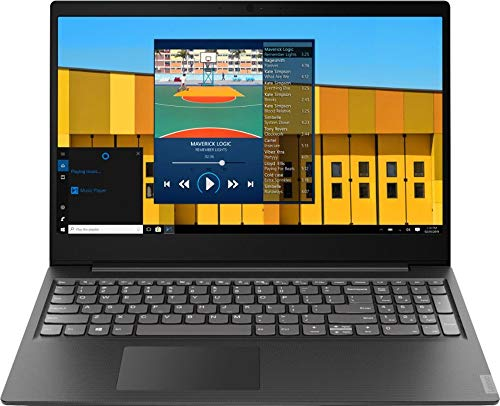 2019 Lenovo S145 15.6' Laptop Computer, Intel Pentium Gold 5405U 2.3GHz, 4GB DDR4 RAM, 500GB HDD, 802.11AC WiFi, Bluetooth, USB 3.1, HDMI, Granite Black Texture, Windows 10 Home