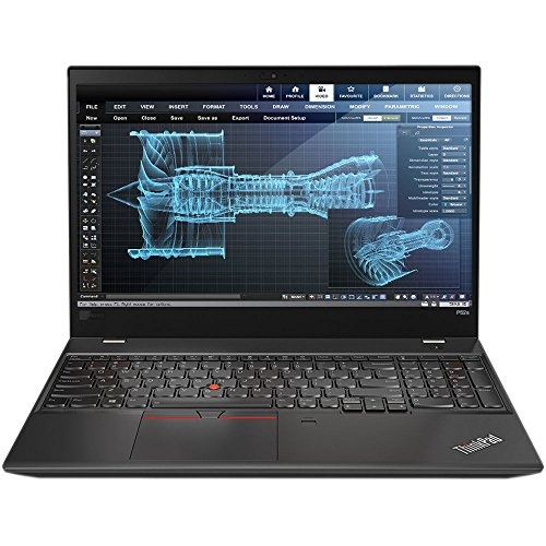 Lenovo ThinkPad P52s Mobile Workstation Ultrabook Laptop (Intel 8th Gen i7-8550U 4-core, 32GB RAM, 512GB SSD, 15.6' FHD 1920x1080 IPS, NVIDIA Quadro P500, Fingerprint, Backlit Keyboard, Win 10 Pro)