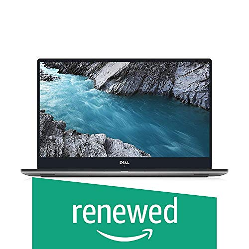 Dell XPS 9570 Laptop 15.6in FHD i7-8750H CPU 16GB RAM 512GB SSD GeForce GTX 1050Ti Thin Bezel 400 Nits Display Silver Windows 10 Home XPS9570-7996SLV-PUS (Renewed)