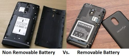 removable vs non-removable batteries