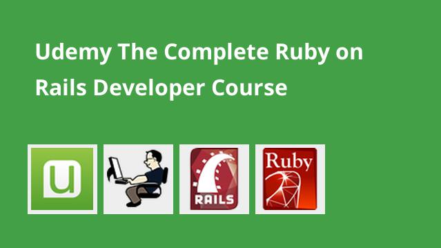 Online Course on Udemy for The Complete Ruby on Rails Developer Course.