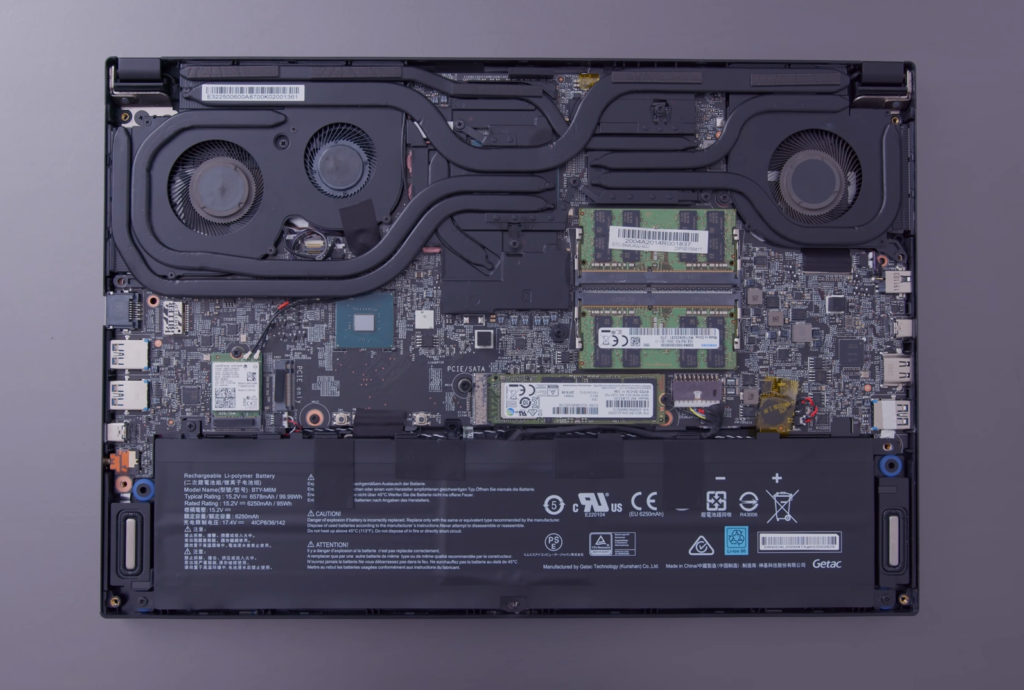 msi gs66 teardown