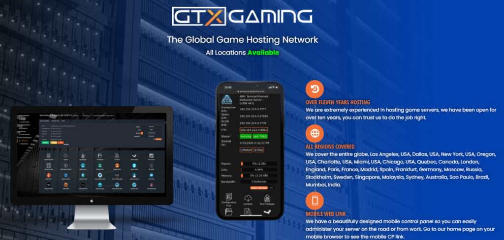 GTXGaming UK Best Server Hosting For Ark.